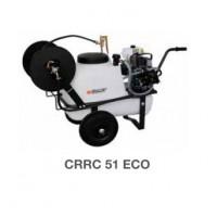 Тележка CRRC 51 ECO 2-х колесная с баком 50 л, 5 метров шланг 8х14 пистолет 600 мм