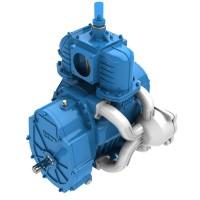 Насос вакуумный JUROP DL 95, 1000 об/мин, левое вращение, ручной клапан, гидромотор