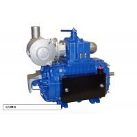 Насос вакуумный JUROP LC 420, 1300 об/мин, правое вращение, ручной клапан