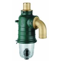Второй запорный клапан со сливом, 80 мм