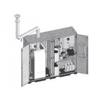 EASY 2 Комплект котел с газовой или дизельной горелкой  25 кВт в отдельном отсеке