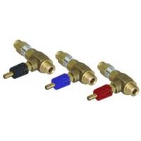 Удлиненный регулируемый эжектор для моечных средств сопло 1,4; вход 3/8ш- выход 3/8ш. (красный)