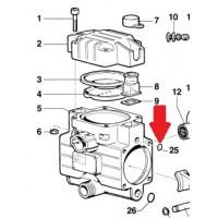 Кольцо 2,62X10,78 насоса BP20/MP20/30
