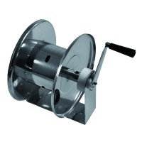 Барабан ручной усиленный для рукава 20м. 1/2 (нерж.) 1/2ш.1/2ш. 200 бар