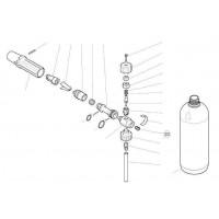 Форсунка 1,80 мм для эжектора (нерж).