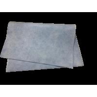 Искусственная замша, голубая 40х55, 300 gsm