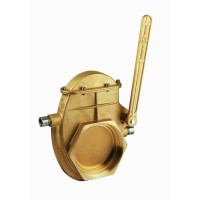 Задвижка на вакуумную бочку, 4, трубная резьба, с возможностью обогрева