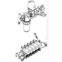Узел управления 5-ти секционный автоматический с электромагнитным расходомером