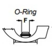 Кольцо уплотнительное входного штуцера форсункодержателя  F10