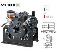 Насос мембранный Comet® серия APS 101 S (усиленное крепление) (94 л/мин; 50 бар); вал ВОМ 13/8