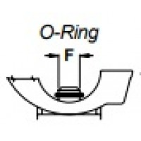 Кольцо уплотнительное входного штуцера форсункодержателя  F7