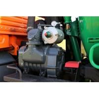 Насос вакуумный JUROP DL 300, 1000 об/мин, левое вращение, ручной клапан с гидромотором