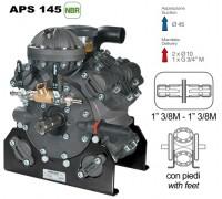 Насос мембранный Comet® серия APS 145 (142 л/мин; 50 бар); вал ВОМ 13/8