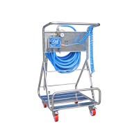 Моб. установка с пеногенер. системой Foam Air system, 2-8 бар, с подачей воздуха, на 1 ср-во