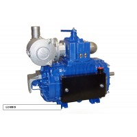 Насос вакуумный JUROP LC 420, 1300 об/мин, левое вращение, пневмоклапан
