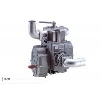 Насос вакуумный JUROP DL 120, 1000 об/мин, правое вращение, ручной клапан, гладкий вал
