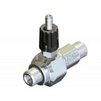 Удлиненный эжектор для моющих средств регулируемый сопло 1,2; вход 3/8ш- выход 3/8ш. (нерж)