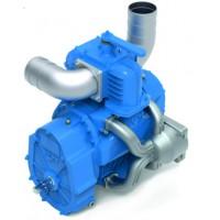 Насос вакуумный JUROP DL 250, 1000 об/мин, левое вращение, ручной клапан, гладкий вал