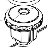 GHIBLI Всасывающая турбина 24В 230Вт для поломоечных машин Rolly 7 1/2, Rolly 11