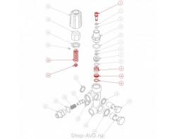 Мойка Hawk Ремкомплект поршня для регулятора давления VBA
