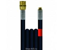 Шланг высокого давления R+M Suttner для промывки канализационных труб (длина — 40 м, диаметр — 6 мм)