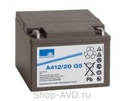 Sonnenschein A 412/20 G5 Гелевый аккумулятор 12В 20Ач
