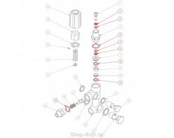 Мойка Hawk Ремкомплект уплотнений для регулятора давления VBA