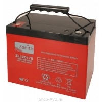 Zenith ZL120175 Необслуживаемый аккумулятор