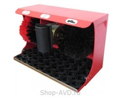 Машинка для чистки обуви (красная)