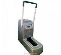 Аппарат для надевания бахил QY-I100 (серебро) с ручкой