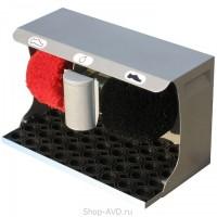 Машинка для чистки обуви (серебро, 370 х 210 х 330 мм)