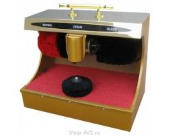 Машинка для чистки обуви 510 х 320 х 480 мм (золото, XLD-XB2)