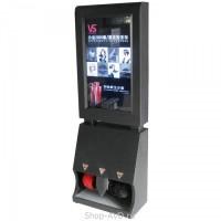 Аппарат для чистки обуви с рекламным ЖК-дисплеем 32 дюйма