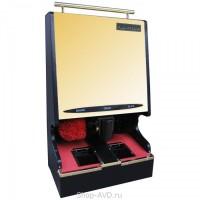 Комбинированный аппарат для чистки обуви с монетоприёмником (золото)