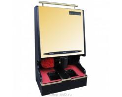 Комбинированный аппарат для чистки обуви (золото)