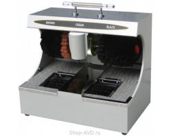 Комбинированный аппарат для чистки обуви (серебро)