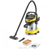 Пылесос для сухой и влажной уборки Karcher WD 5 Premium