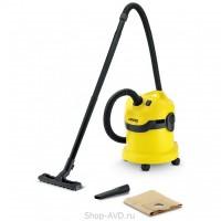 Karcher WD 2 для сухой и влажной уборки