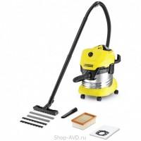 Пылесос для сухой и влажной уборки Karcher WD 4 Premium