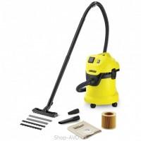 Karcher WD 3 P для сухой и влажной уборки (начальный класс)