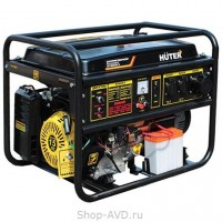 Портативный бензиновый генератор Huter DY8000LX