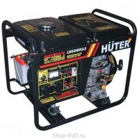 Huter LDG3600CLE Портативный дизельный генератор