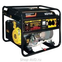 Портативный бензиновый генератор Huter DY6500LX