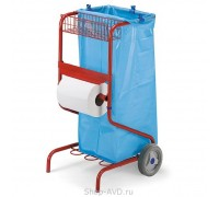TTS Тележка для сбора мусора Dust Happy (120 л)