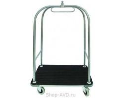 VDU Тележка для гостиничного багажа с вешалом 97.301