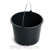 ACG Ведро пластиковое черное 16 л