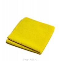 Салфетка из микрофибры 35х40 см ворсистая (жёлтая)