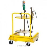 Meclube 1125 Набор для подачи густых смазок на тележке (для бочек 180-220 кг)