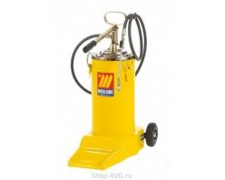 Meclube 1142 Солидолонагнетатель ручной на колесах (16 кг)