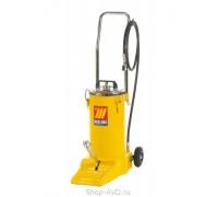 Meclube 1144 Солидолонагнетатель ножной на колесах (16 кг)
